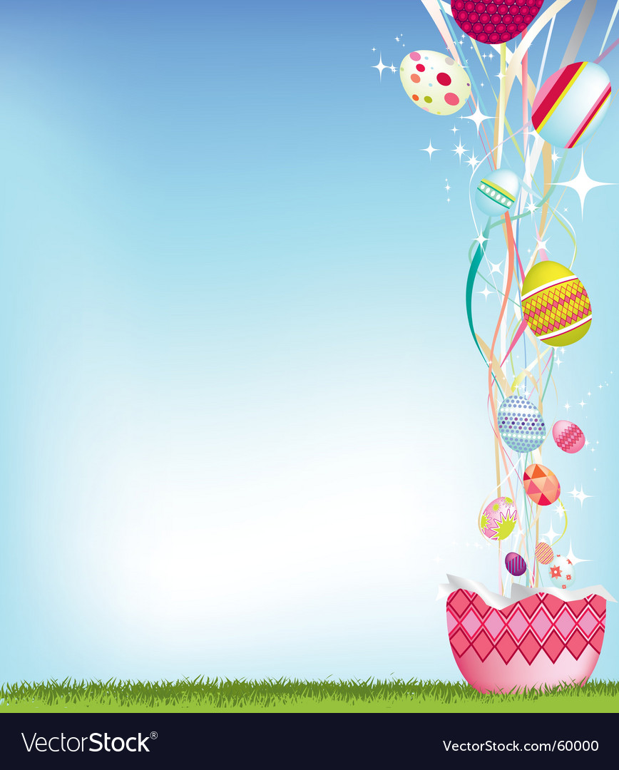 Egg exploding vector | Price: 1 Credit (USD $1)