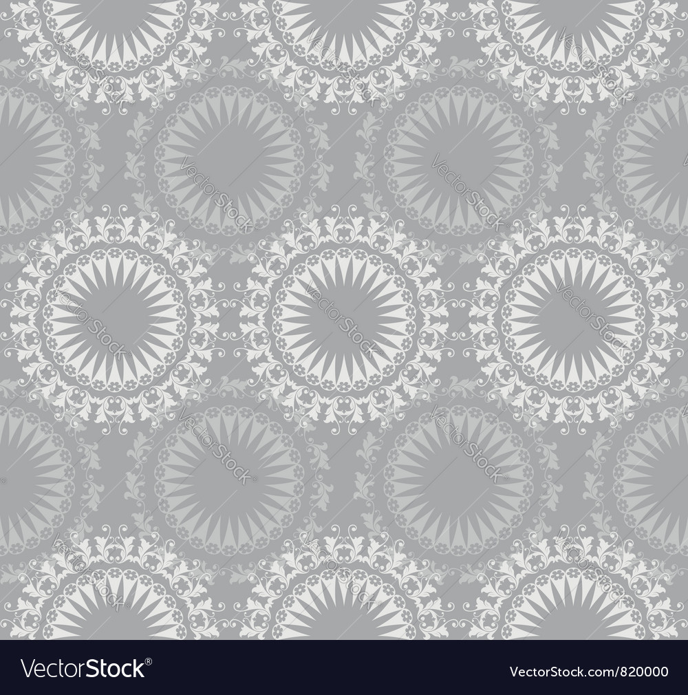 Lace ornate seamless pattern vector | Price: 1 Credit (USD $1)