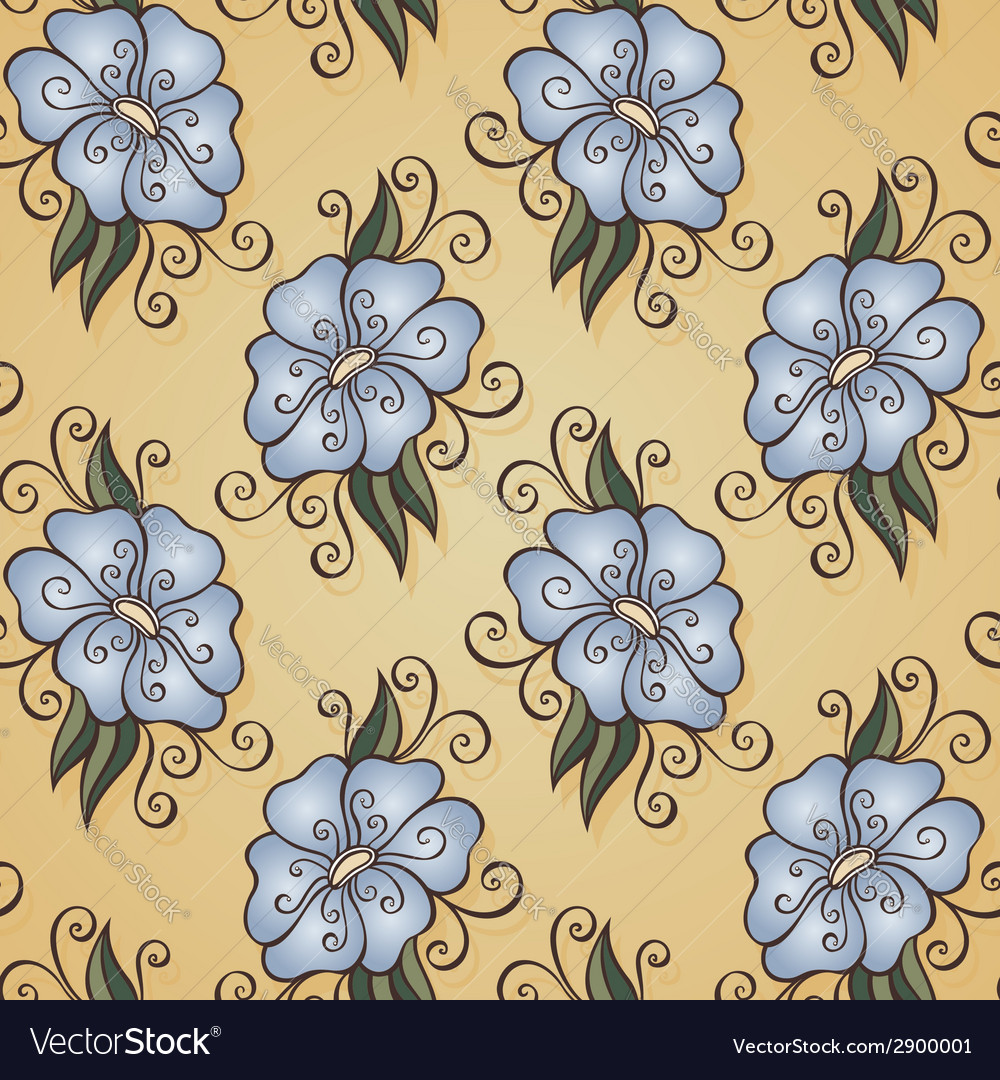 Floral pattern 13 5 vector | Price: 1 Credit (USD $1)