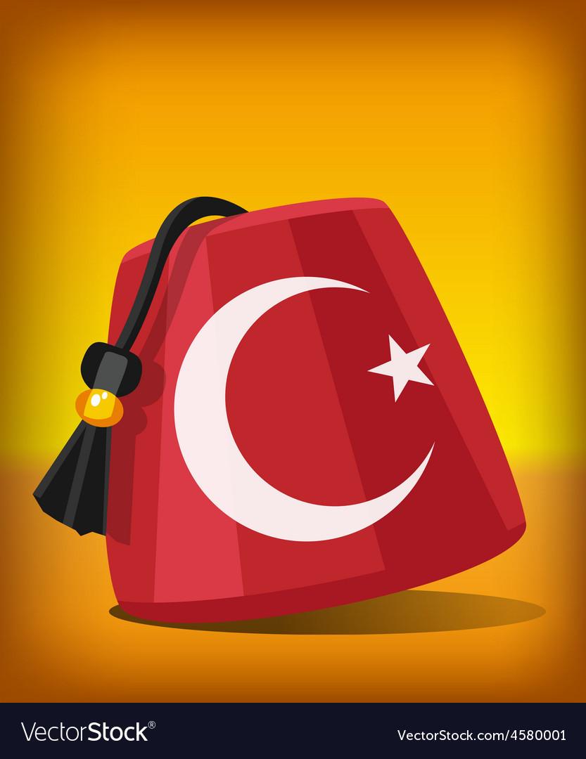 Turkish fez vector | Price: 1 Credit (USD $1)