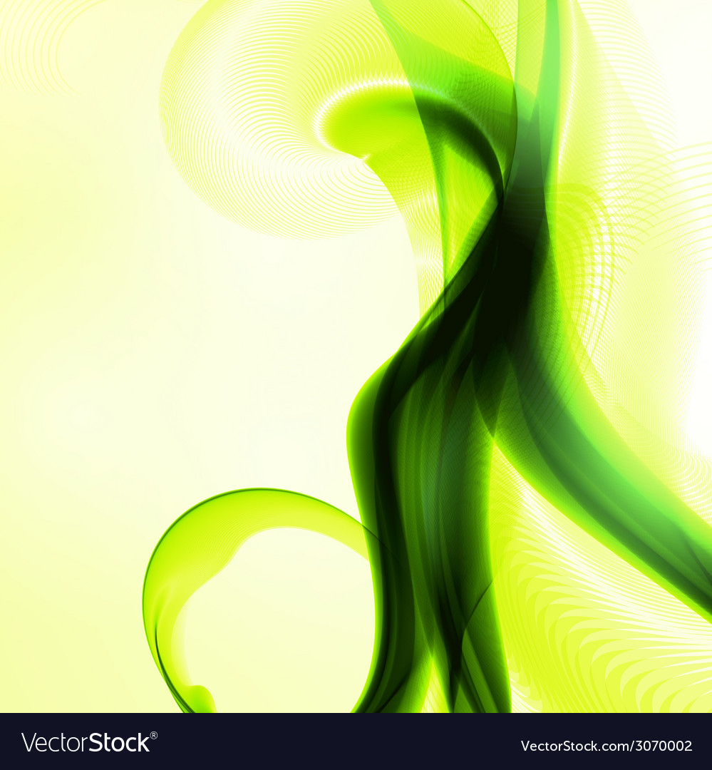 Abstract green vector   Price: 1 Credit (USD $1)