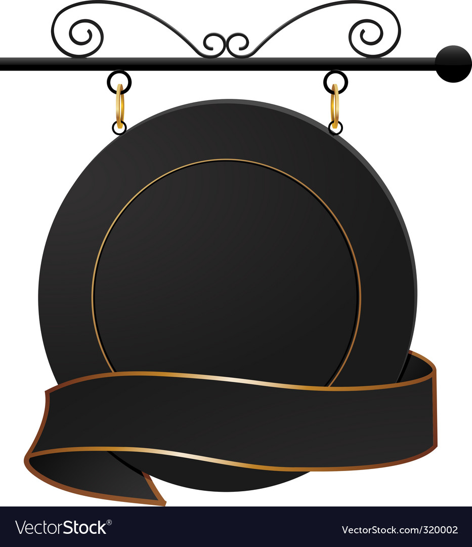 Black cafe sign and banner vector   Price: 1 Credit (USD $1)