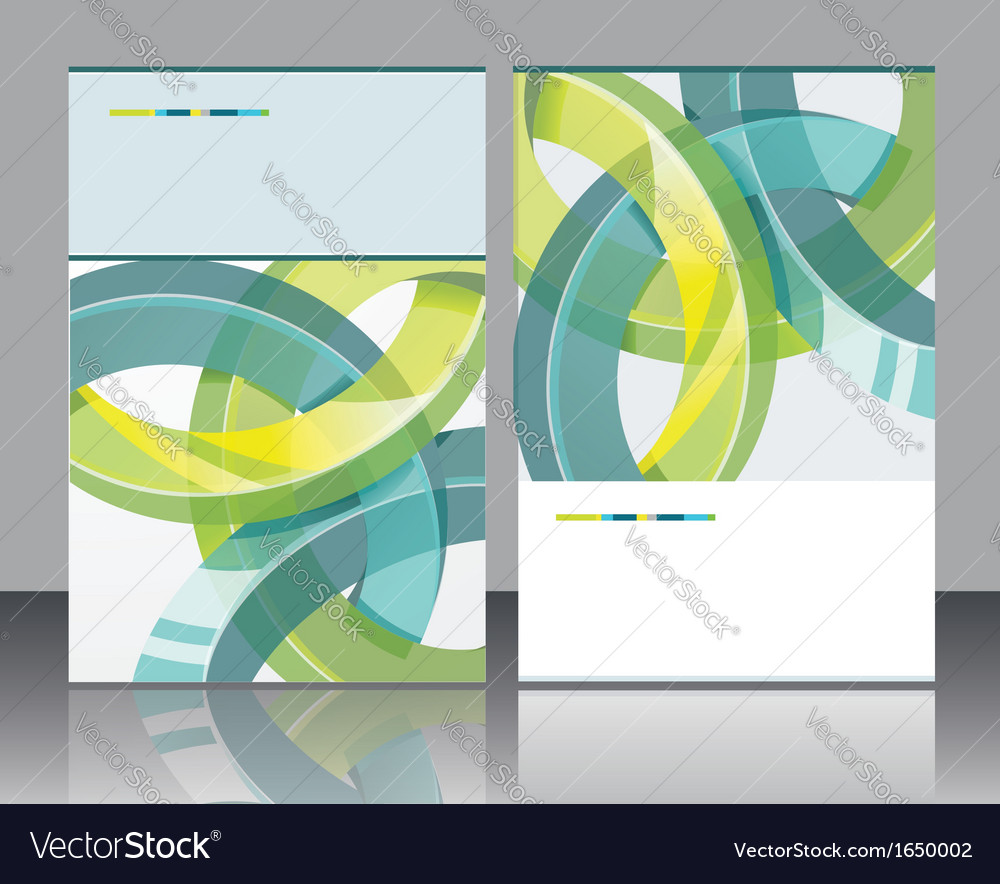 Brochure design element vector | Price: 1 Credit (USD $1)