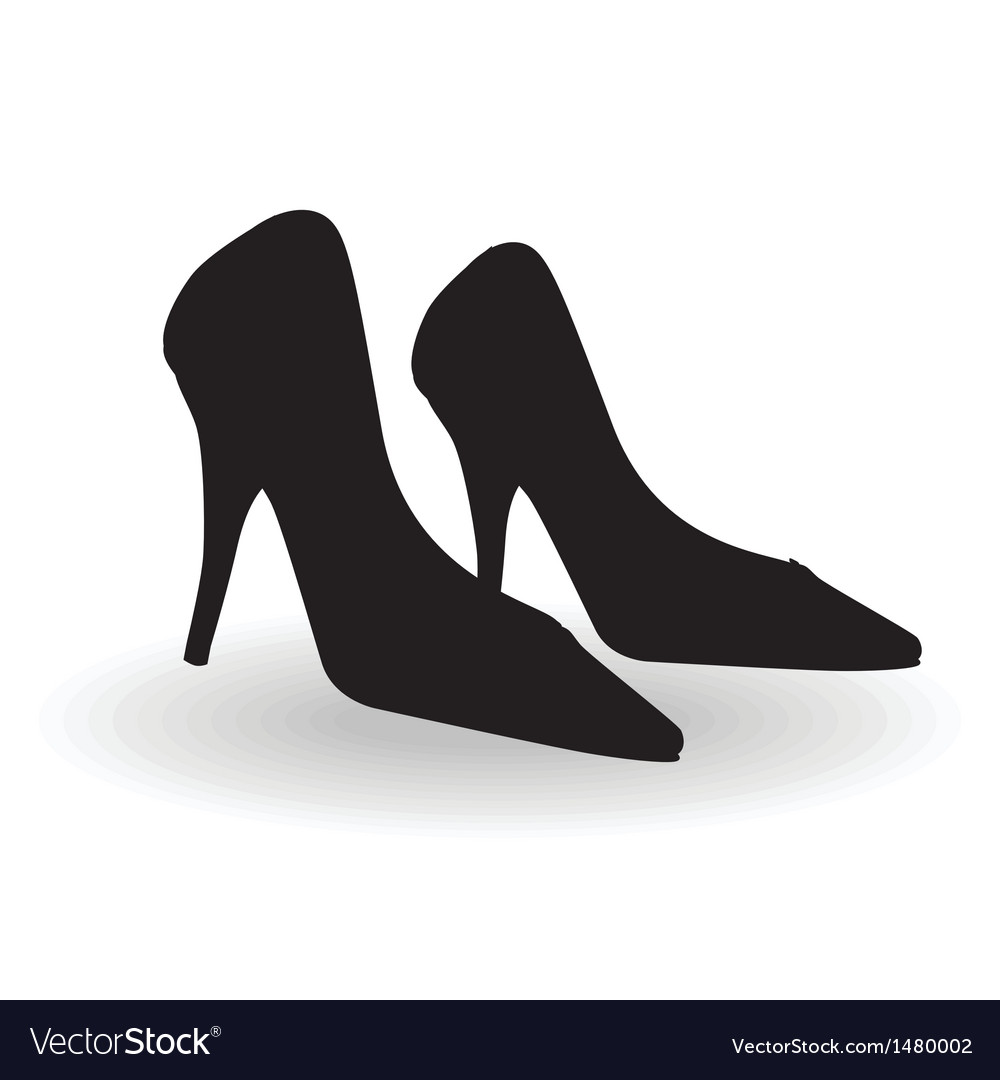 Women shoes vector | Price: 1 Credit (USD $1)