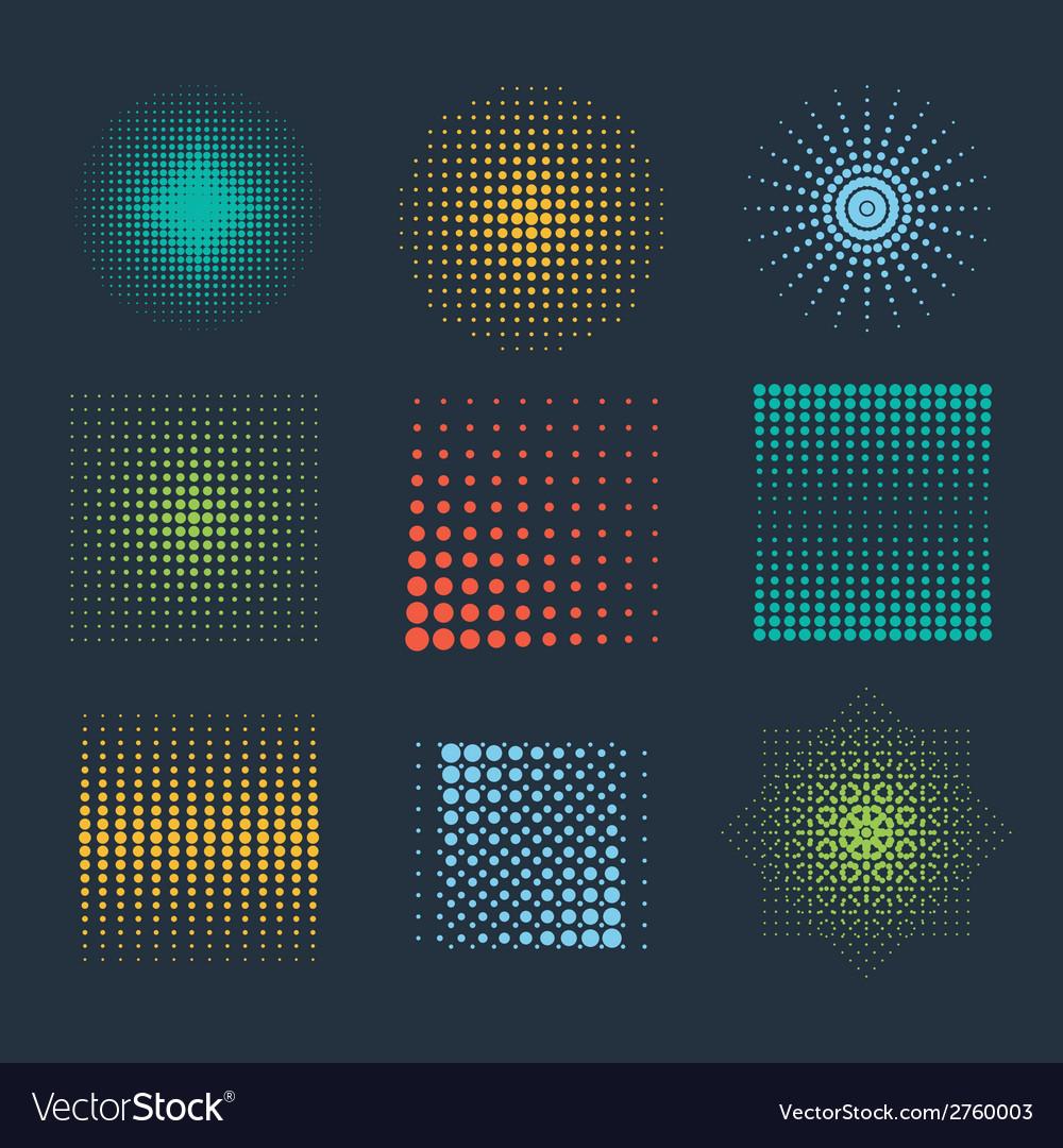Halftone patterns vector   Price: 1 Credit (USD $1)
