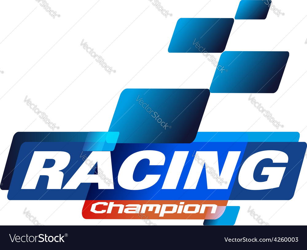Racing champions vector | Price: 1 Credit (USD $1)