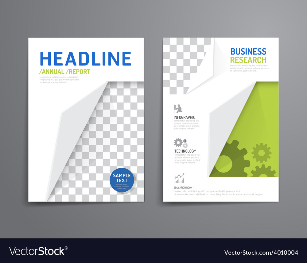 Brochure flyer magazine cover booklet poster desig vector | Price: 1 Credit (USD $1)