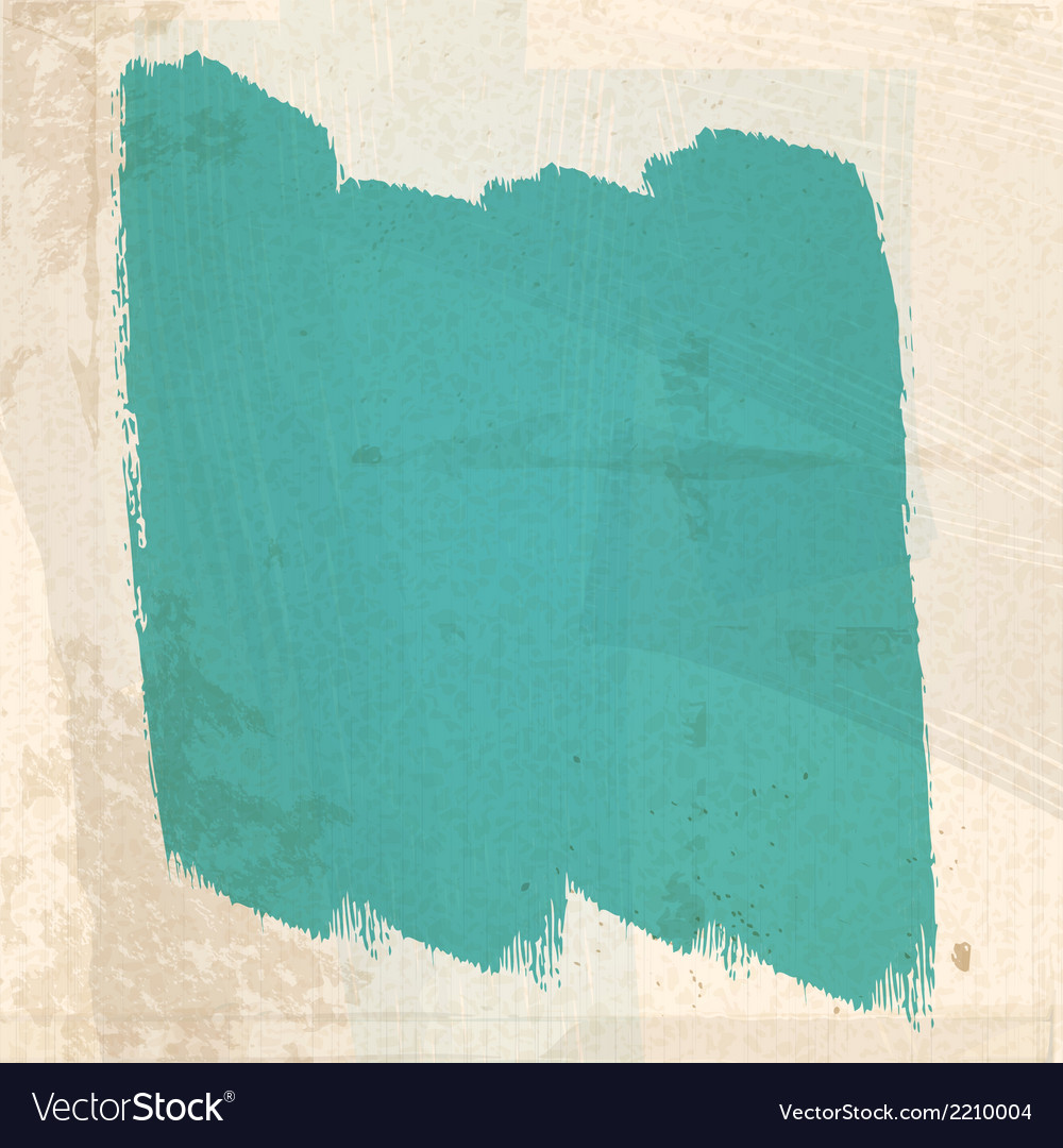 Grungy green paint strokes vector | Price: 1 Credit (USD $1)
