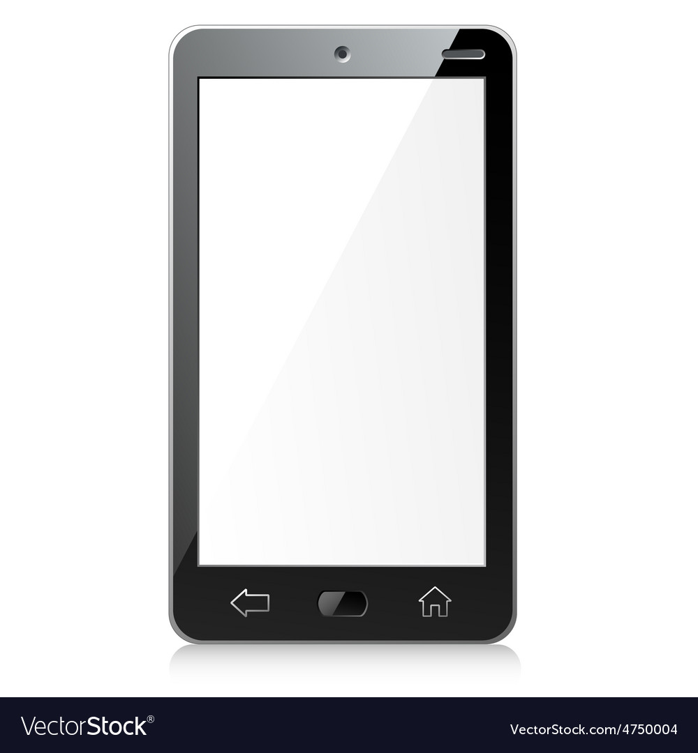 New black smartphone vector | Price: 1 Credit (USD $1)