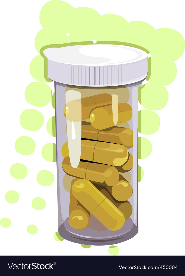 Yellow tablets vector | Price: 1 Credit (USD $1)