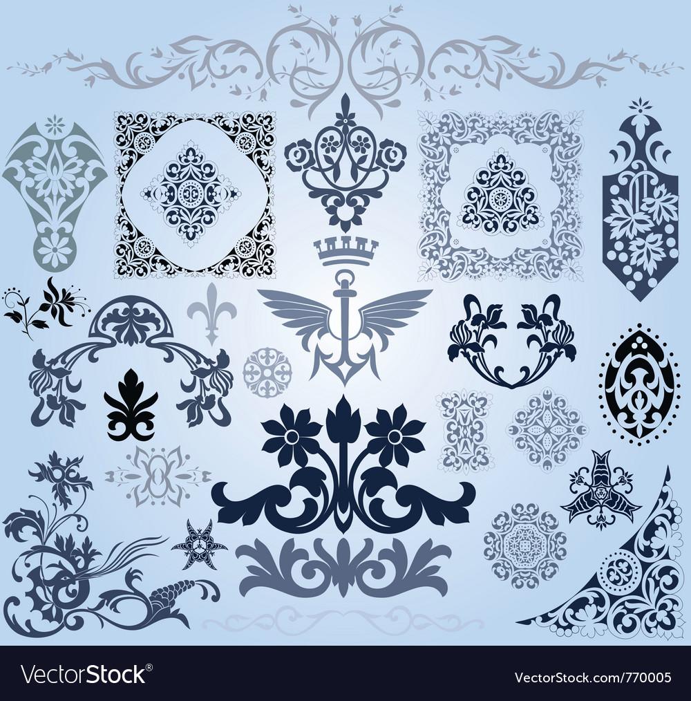 Elements design vector | Price: 1 Credit (USD $1)