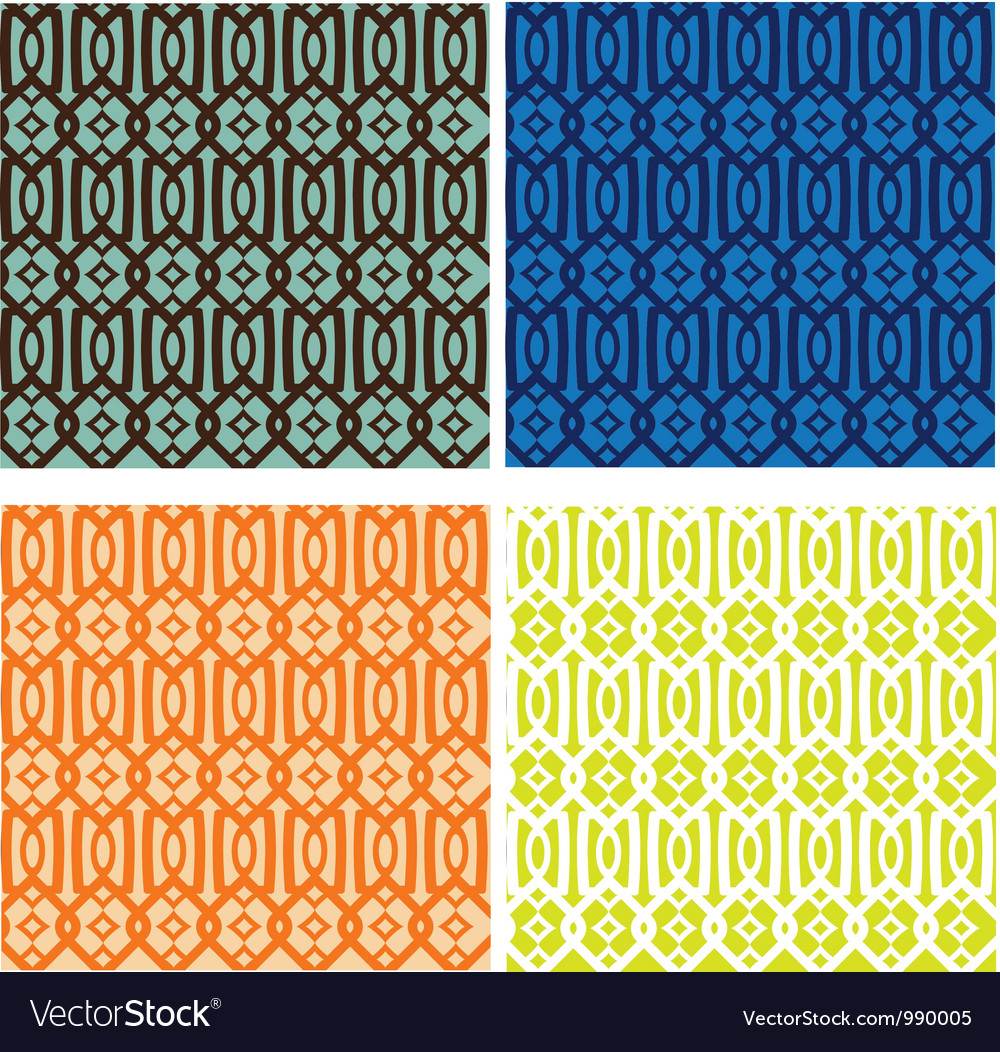 Trellis pattern collection vector | Price: 1 Credit (USD $1)