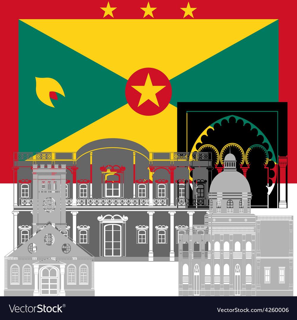 Grenada vector   Price: 1 Credit (USD $1)