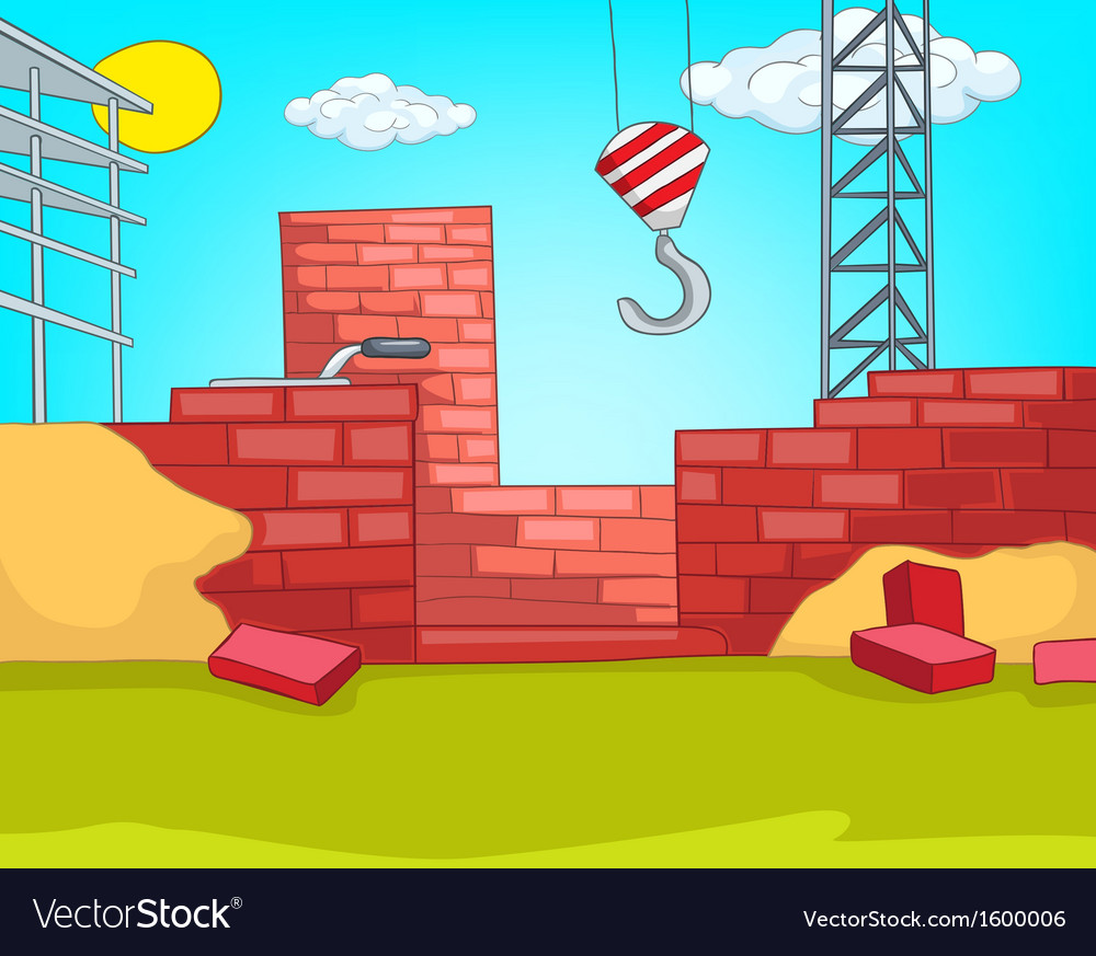 House construction vector | Price: 1 Credit (USD $1)