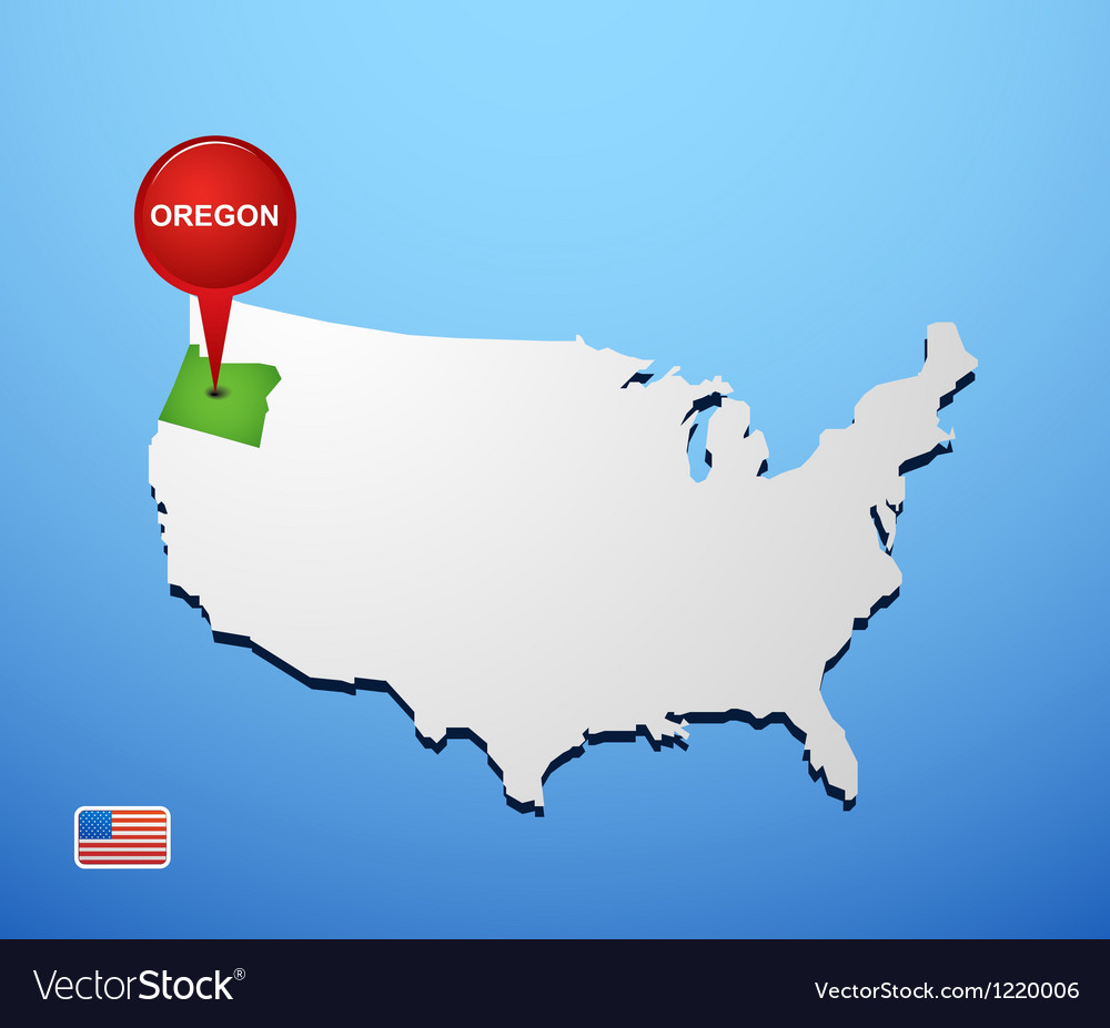 Oregon vector | Price: 1 Credit (USD $1)