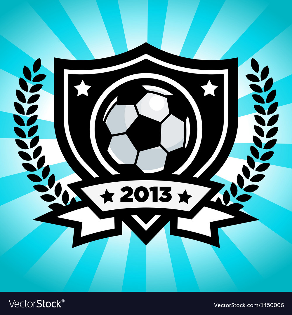 Soccer logo emblem vector | Price: 1 Credit (USD $1)