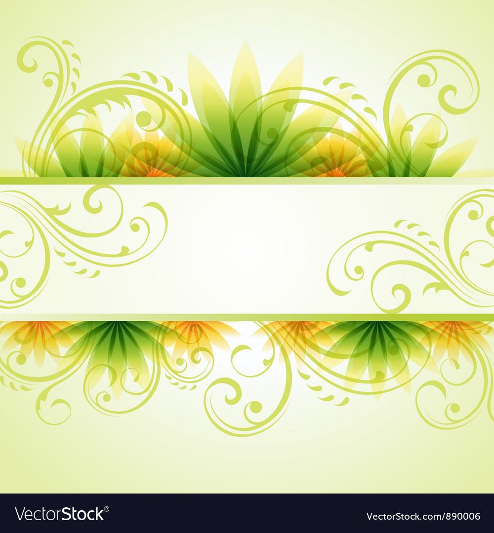 Spring summer background vector | Price: 1 Credit (USD $1)