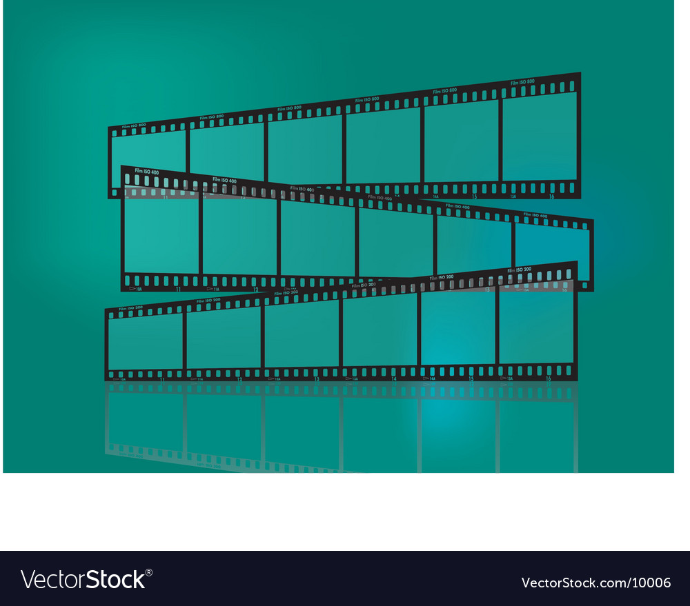 Traditional film strip vector | Price: 1 Credit (USD $1)