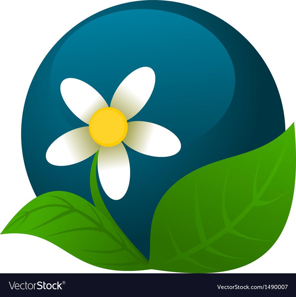Chamomile logo vector | Price: 1 Credit (USD $1)
