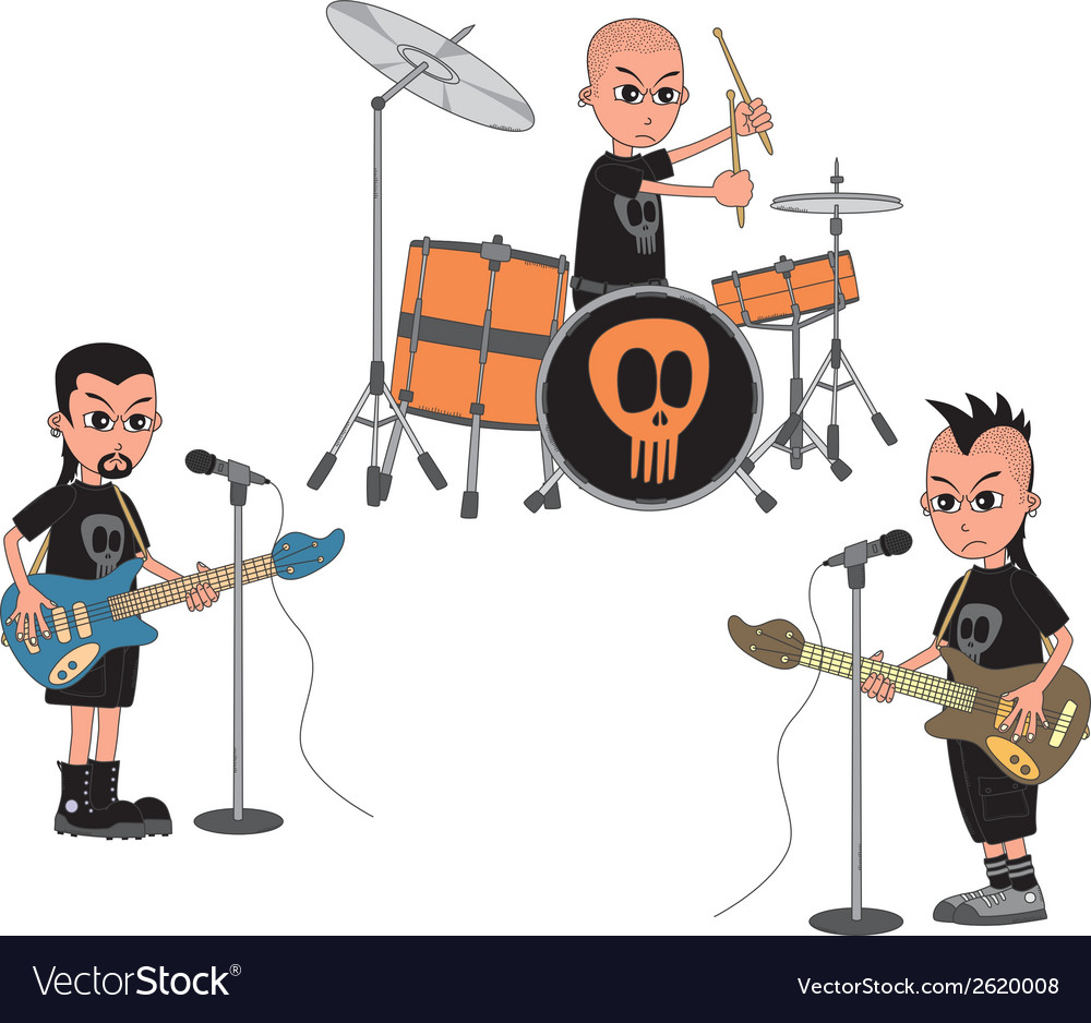 Band vector | Price: 1 Credit (USD $1)