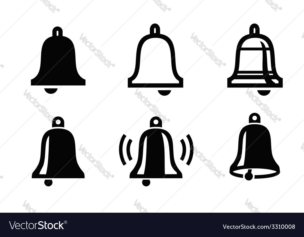 Bell icon vector | Price: 1 Credit (USD $1)