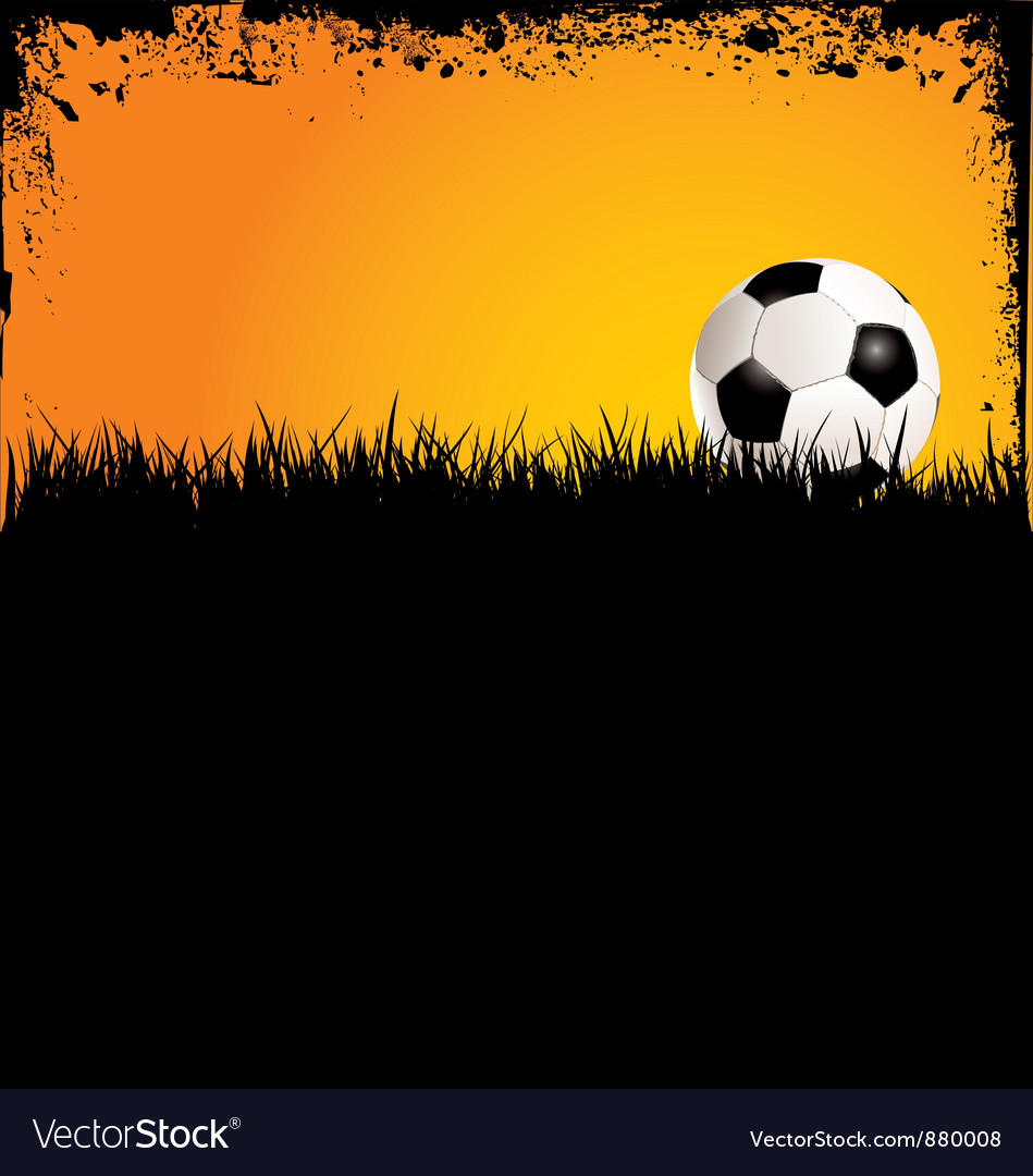 Soccer grunge background vector | Price: 1 Credit (USD $1)