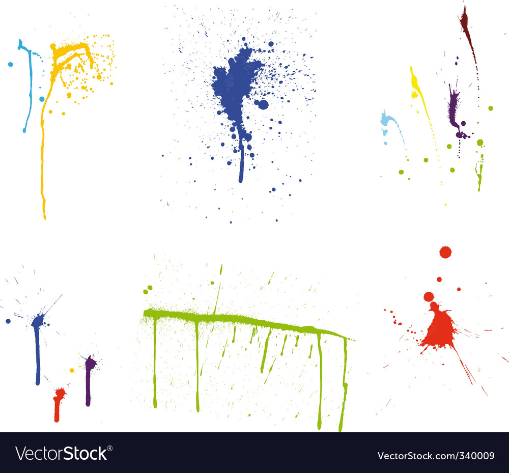 Grunge pattern set vector | Price: 1 Credit (USD $1)