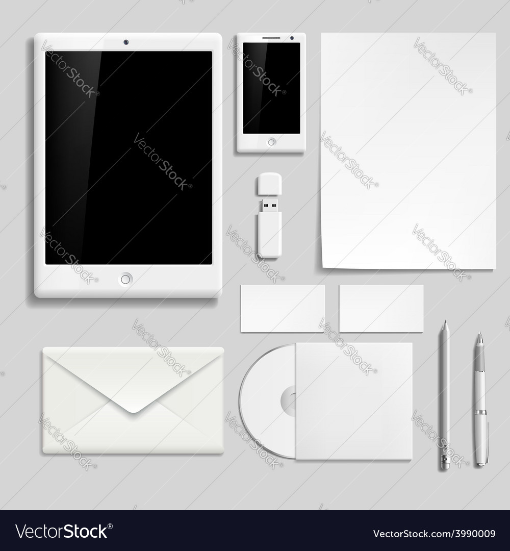 Template for branding identity vector | Price: 1 Credit (USD $1)