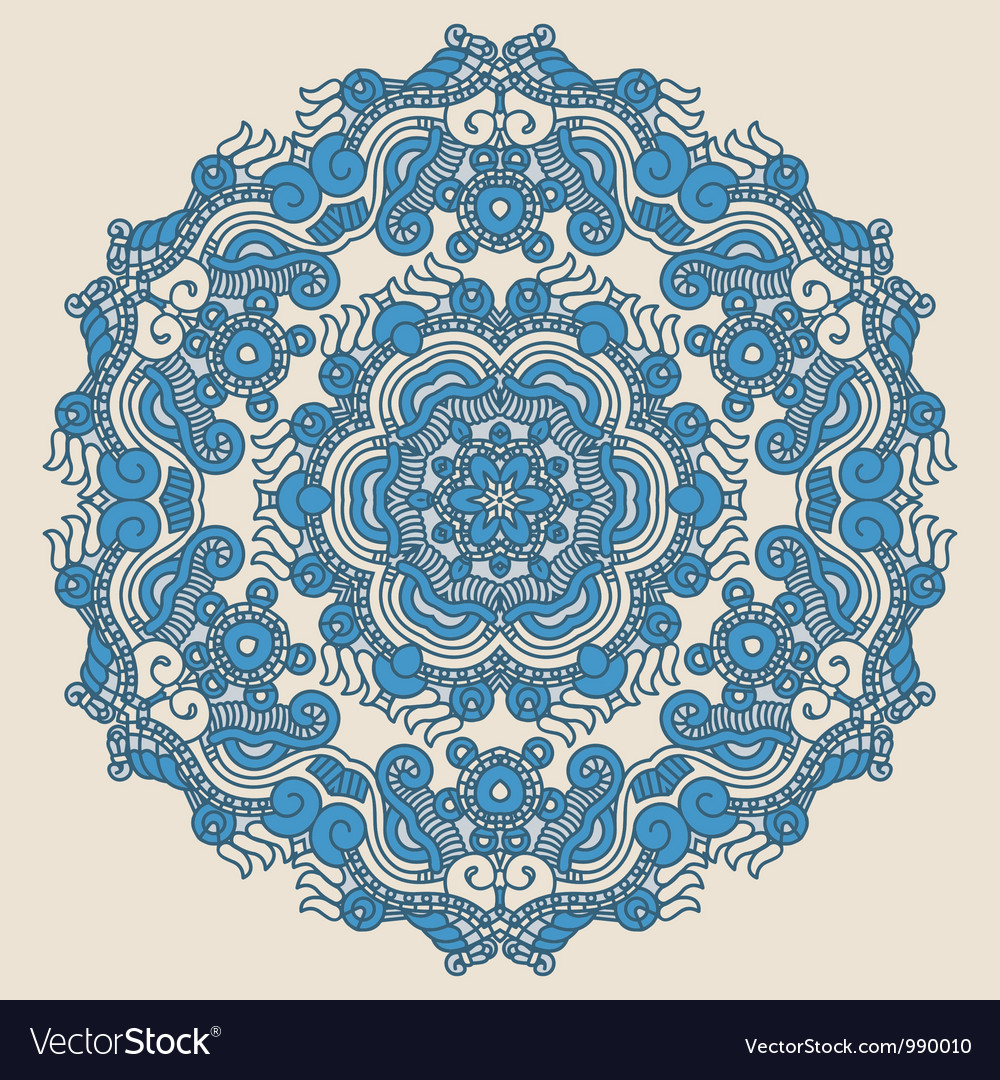 Ornamental pattern vector | Price: 1 Credit (USD $1)