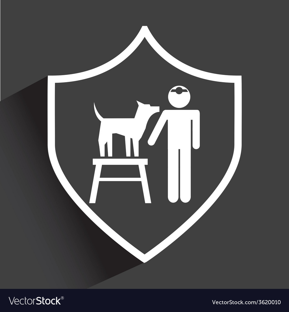 Pet service vector | Price: 1 Credit (USD $1)