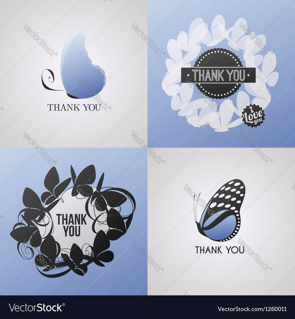 Butterfly - collection of design elements vector   Price: 1 Credit (USD $1)