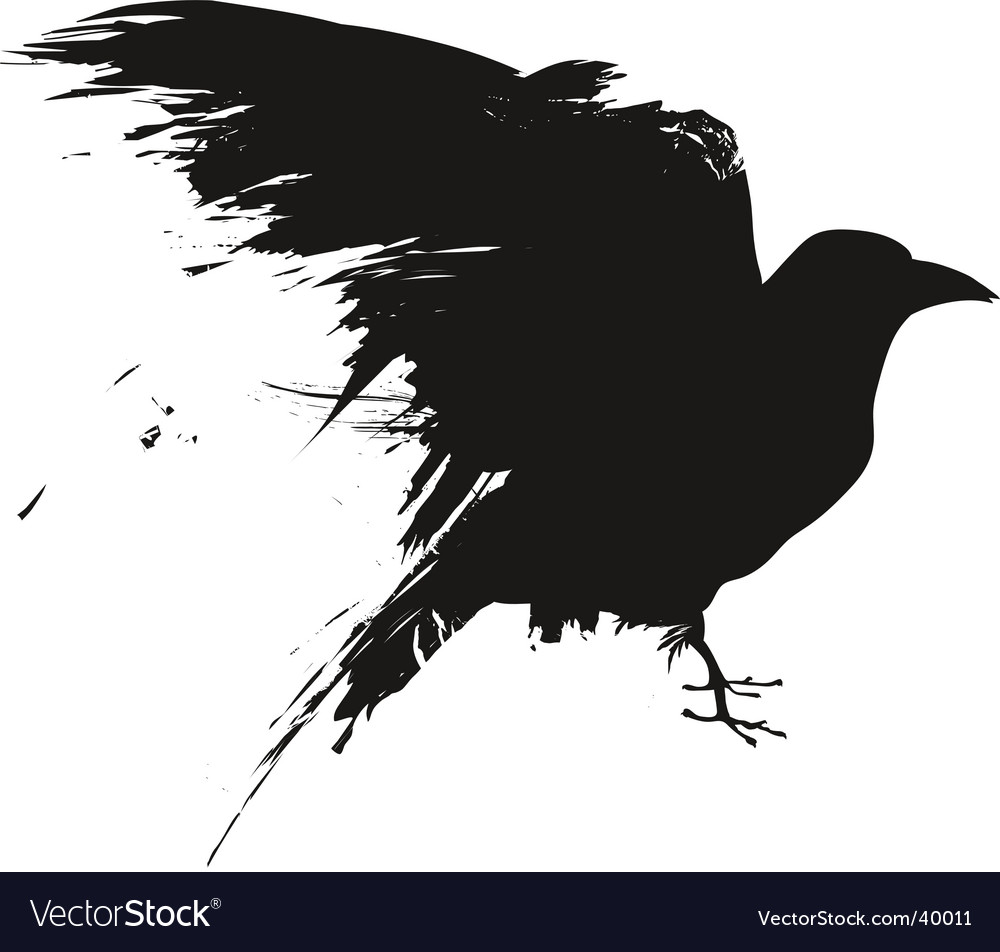 Grunge birds vector | Price: 1 Credit (USD $1)