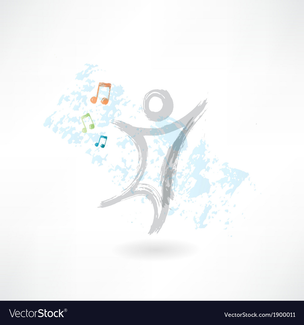Man in music vector | Price: 1 Credit (USD $1)