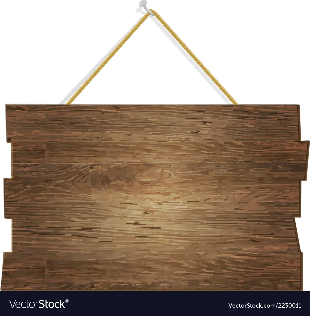 Wood board vector | Price: 1 Credit (USD $1)