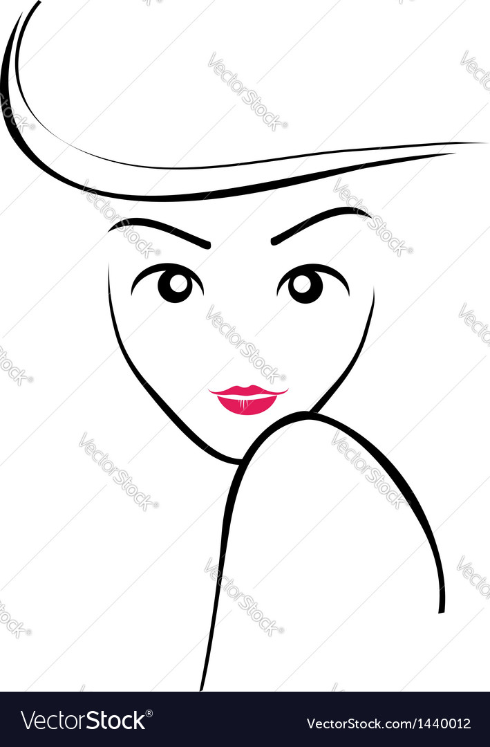 Abstract lady vector | Price: 1 Credit (USD $1)