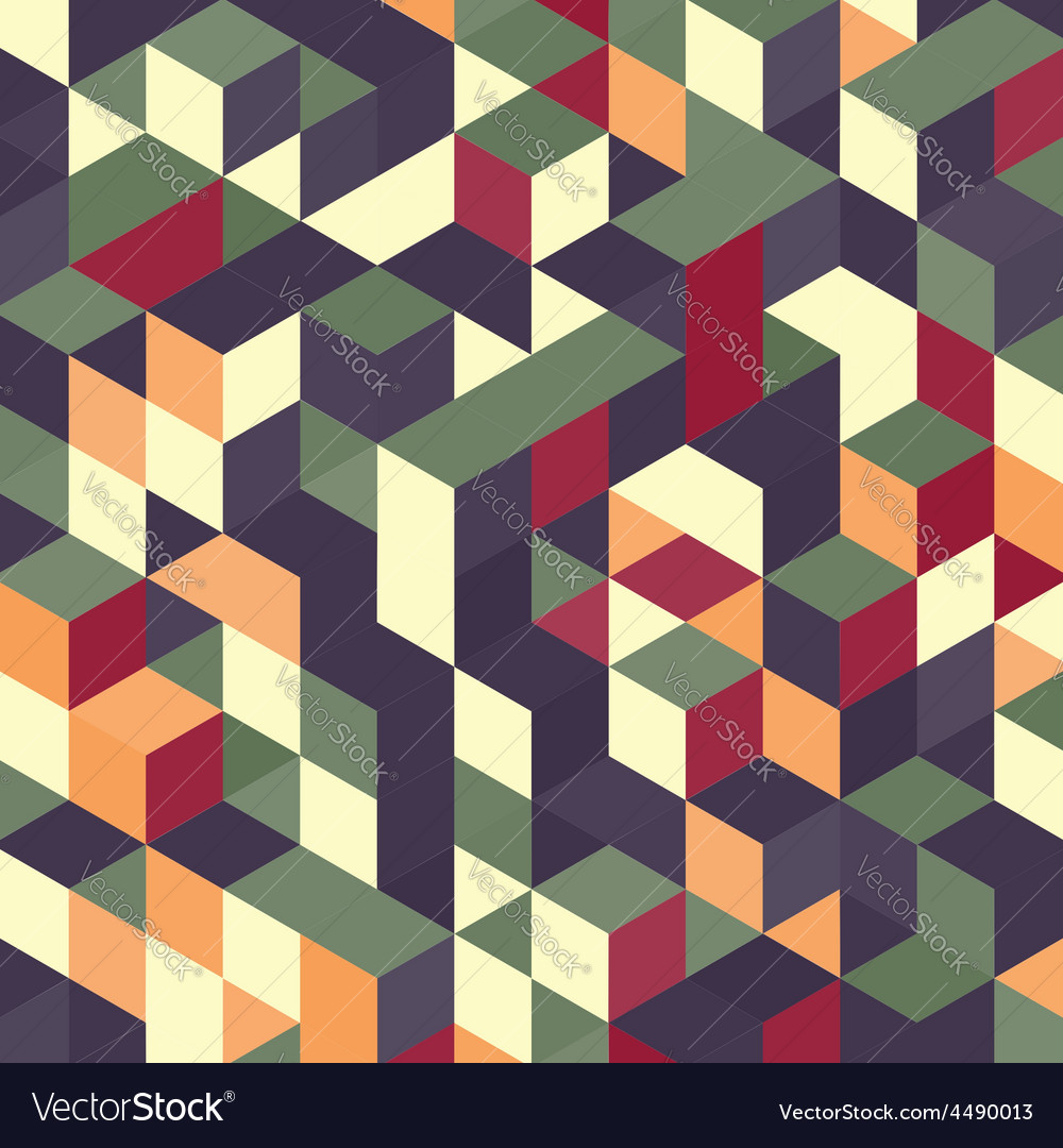 Abstract geometrical 3d colorful background vector | Price: 1 Credit (USD $1)