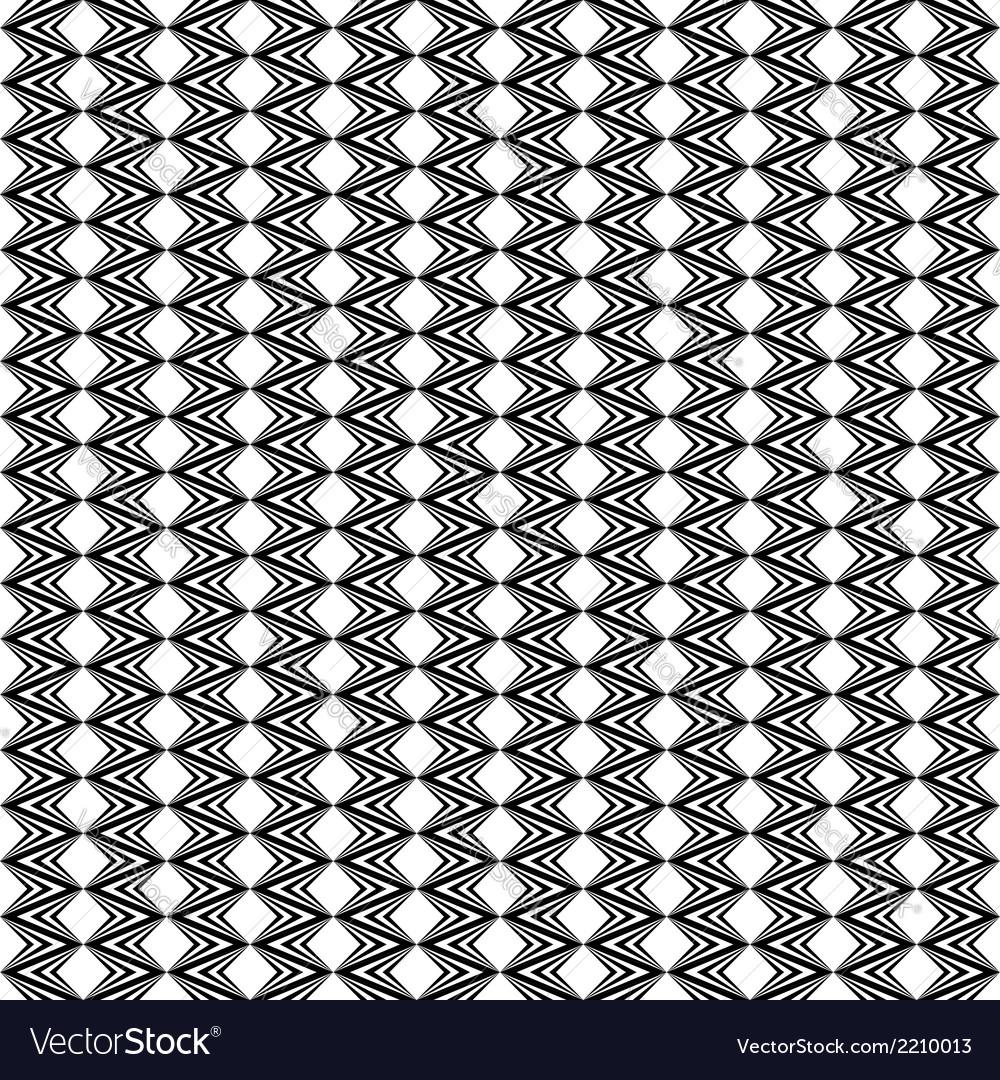 Design seamless diamond geometric zigzag pattern vector | Price: 1 Credit (USD $1)