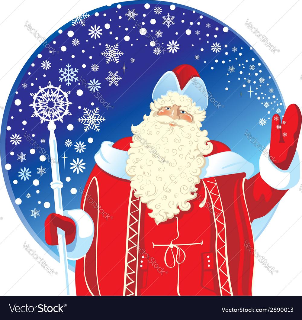 Festive santa claus vector | Price: 3 Credit (USD $3)