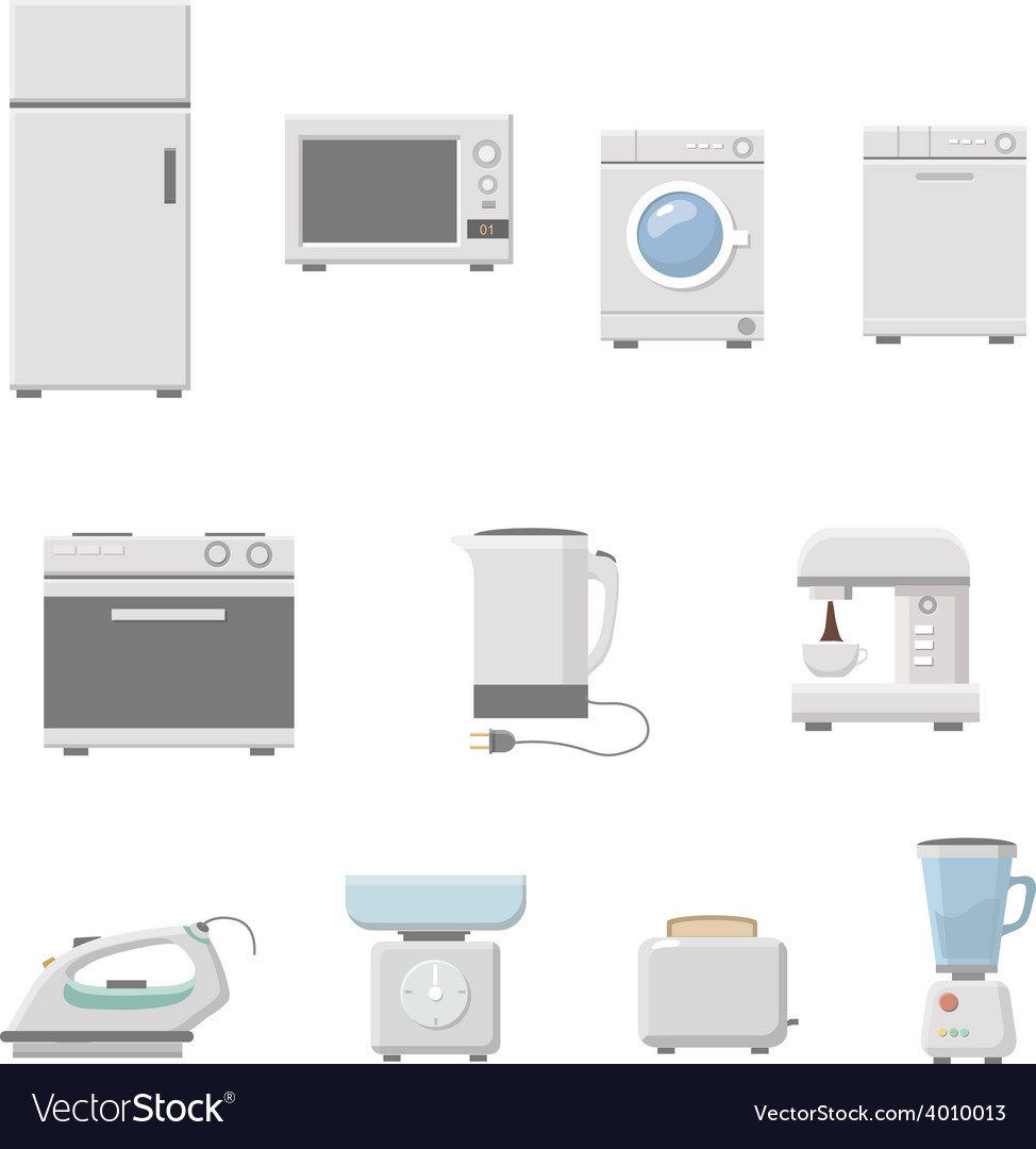 Household appliance vector | Price: 1 Credit (USD $1)