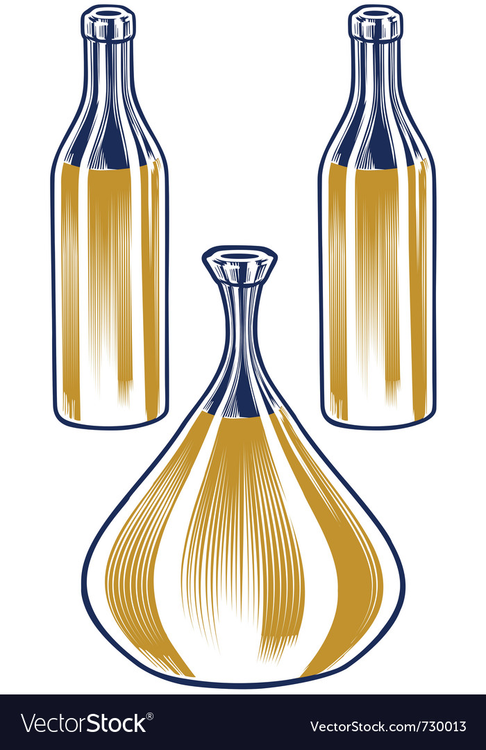 Pitcher bottle set vector | Price: 1 Credit (USD $1)