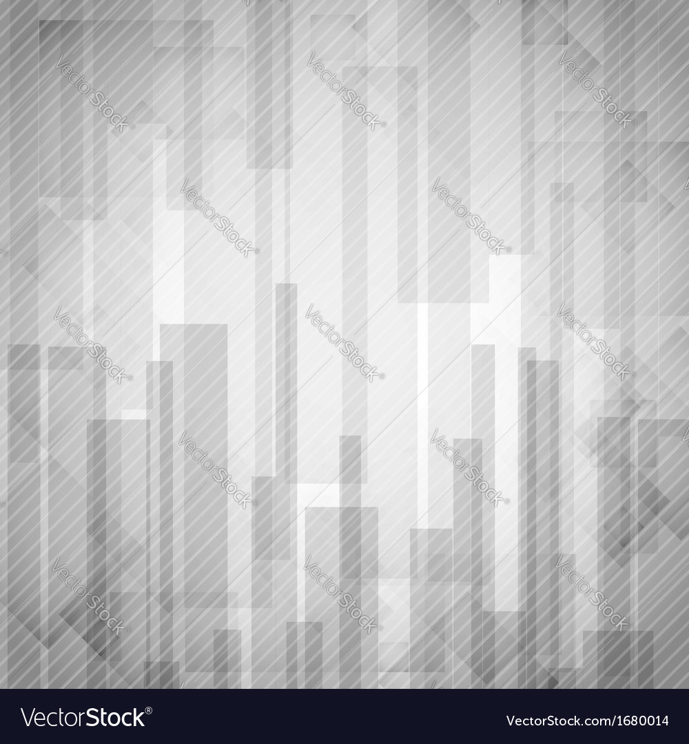 Abstract white rectangle shapes background vector | Price: 1 Credit (USD $1)