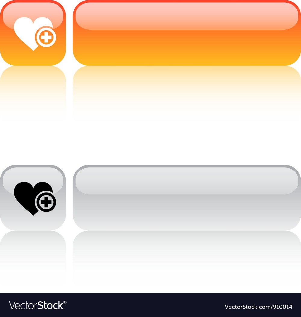 Add to vavorite square button vector | Price: 1 Credit (USD $1)