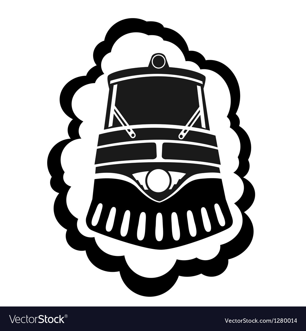 Locomotive vector | Price: 1 Credit (USD $1)