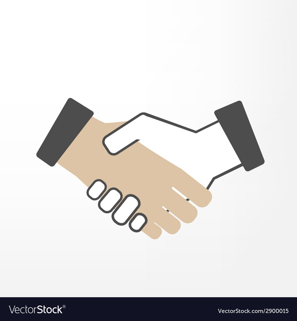 Shake hand vector | Price: 1 Credit (USD $1)