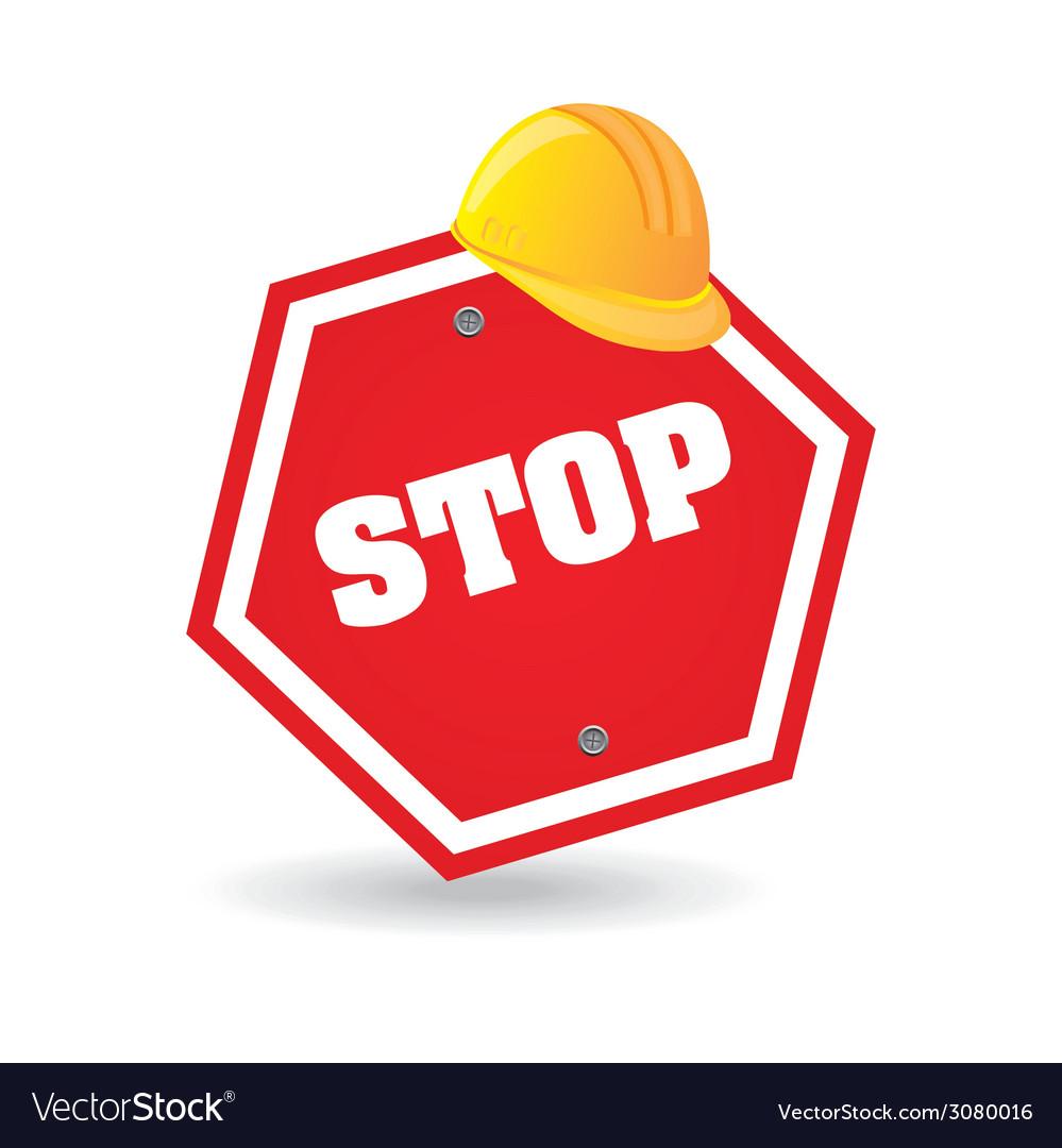 Stop design vector | Price: 1 Credit (USD $1)