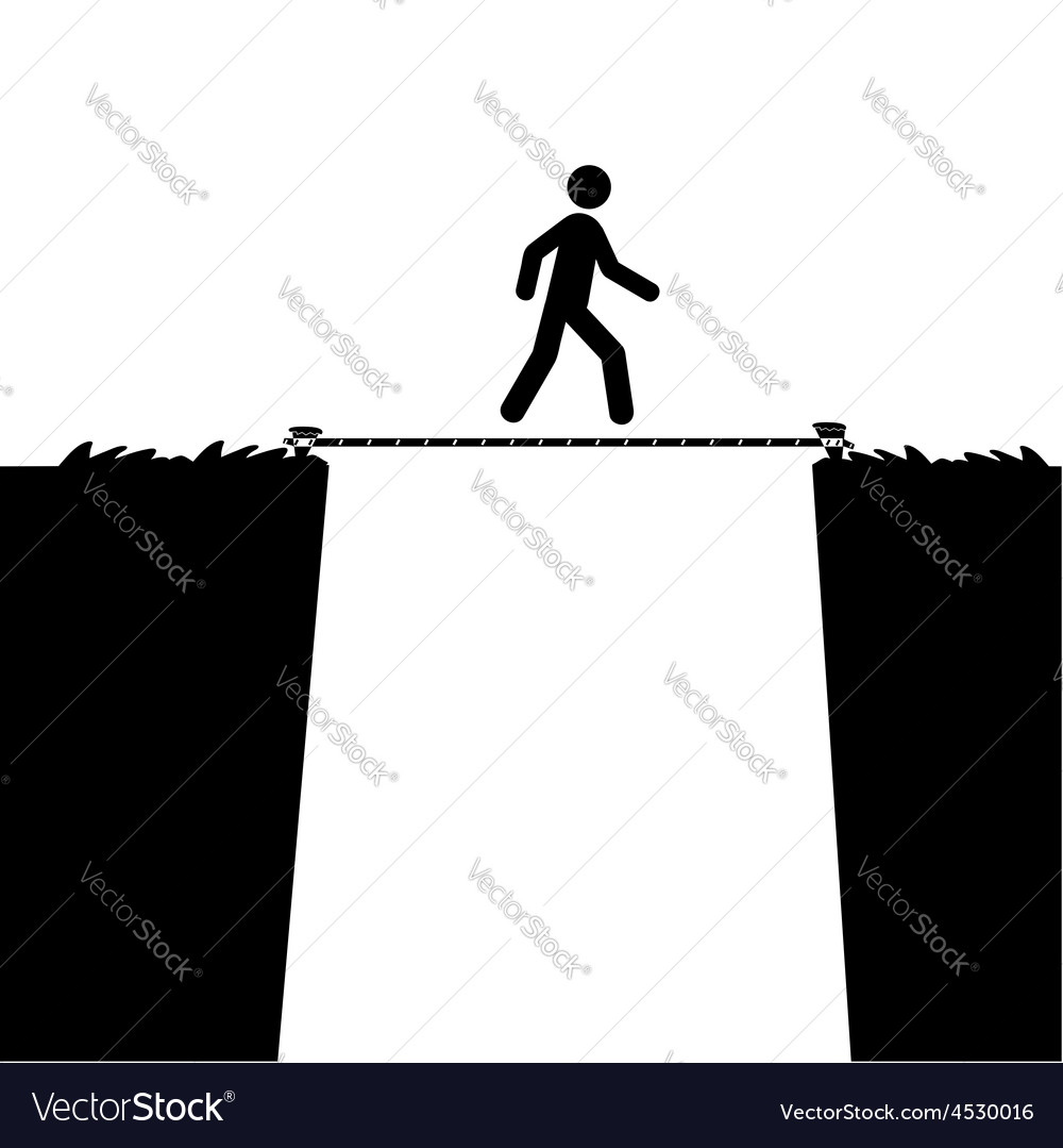 Tight rope vector   Price: 1 Credit (USD $1)