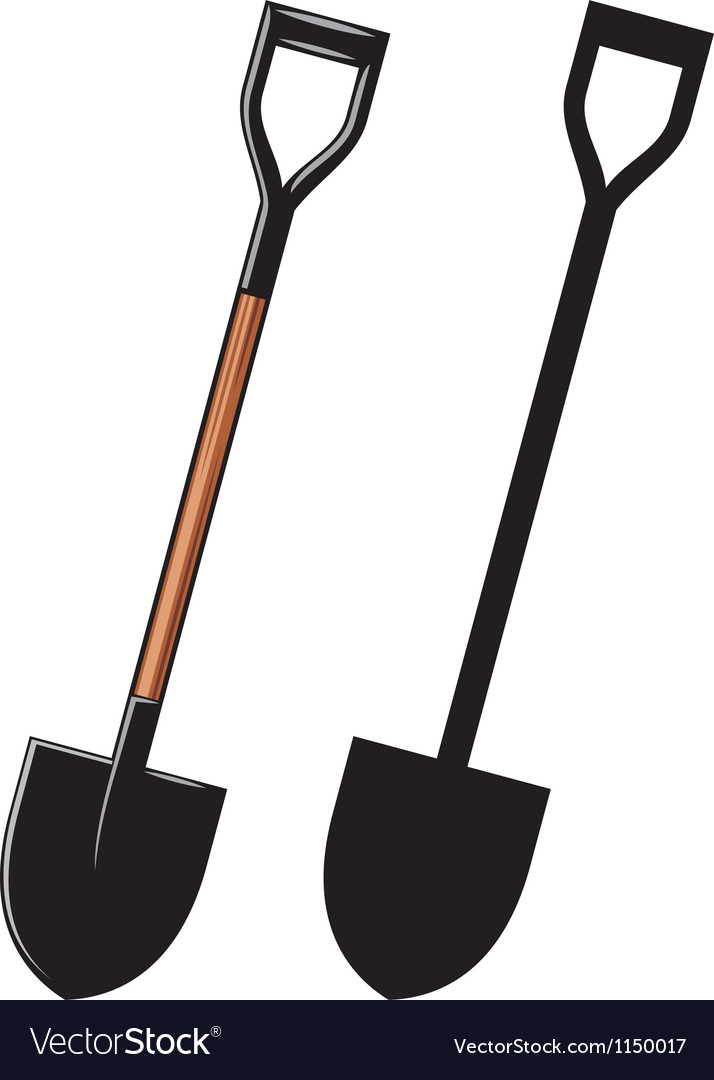 A shovel vector | Price: 1 Credit (USD $1)