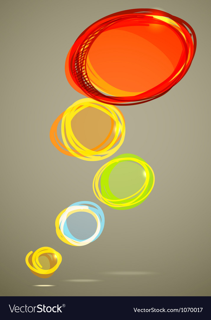 Background of abstract talking bubble vector | Price: 1 Credit (USD $1)