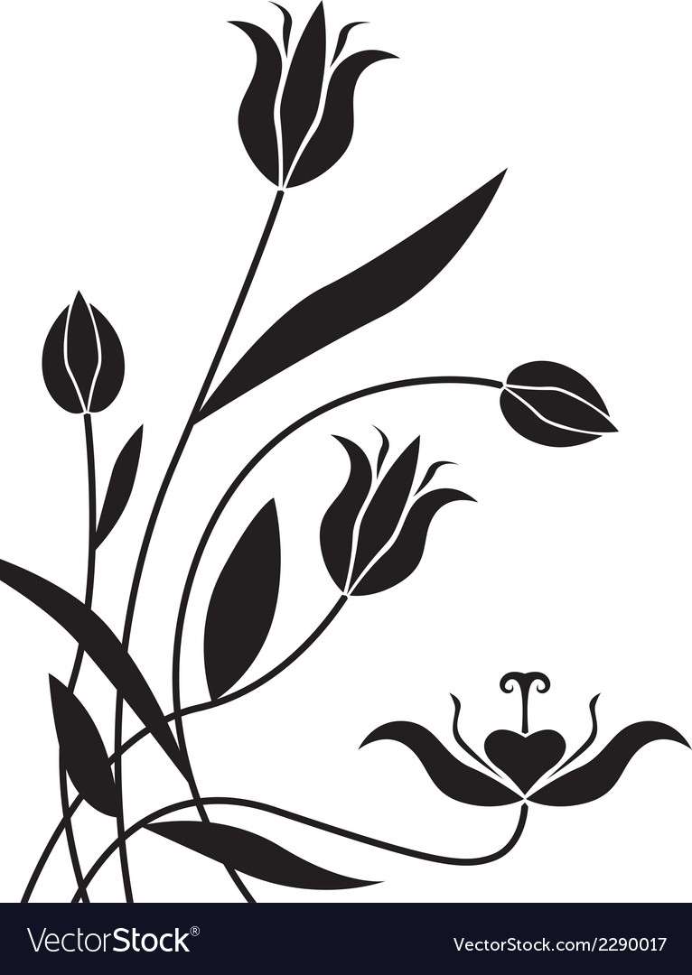 Flower bg vector | Price: 1 Credit (USD $1)