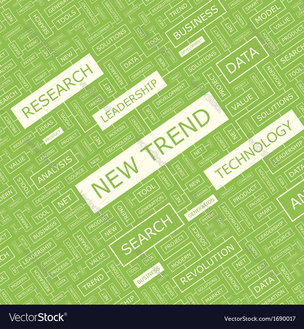 New trend vector | Price: 1 Credit (USD $1)